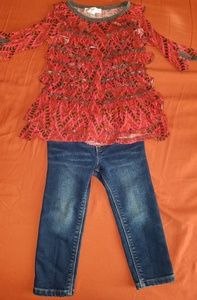Other - SALE 7 FOR $20 2T Toddler Set, Baby Sara Top,Old